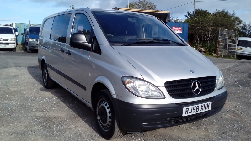 Mercedes Vito 111 CDi Long 6 Seater Finance available subject to Status