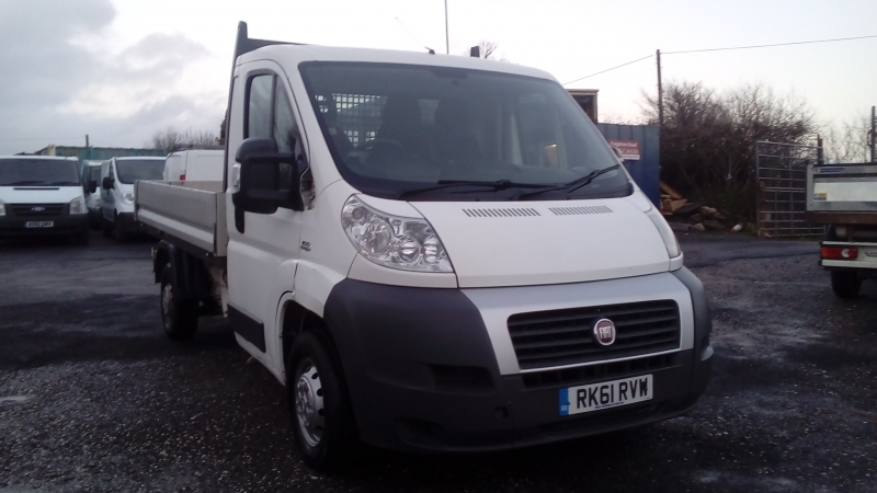 Fiat Ducato 2.2JTD 100 Multijet 30 MWB Dropside 2011 Finance available subject to Status